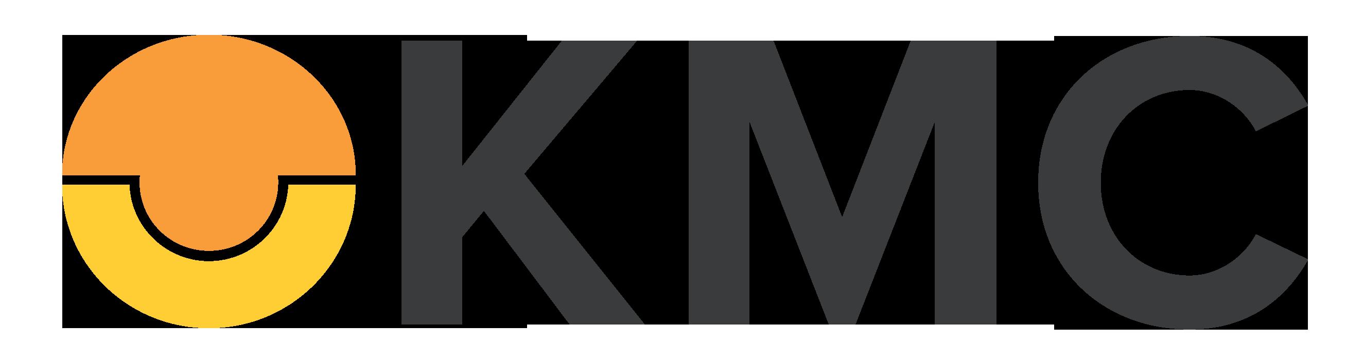 KMC Black Font Logo